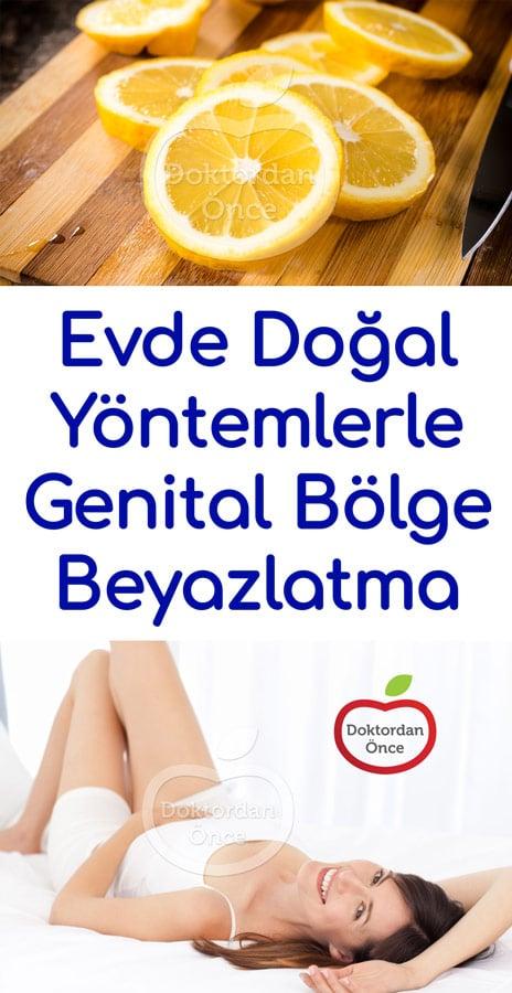 Evde Doğal Yöntemlerle Genital Bölge Beyazlatma