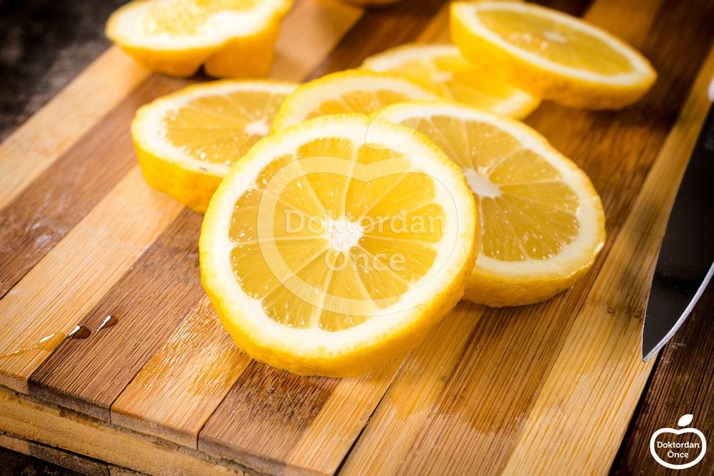 Limon ile genital bölge beyazlatma