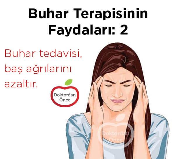 Buhar tedavisinin baş ağrısına faydaları