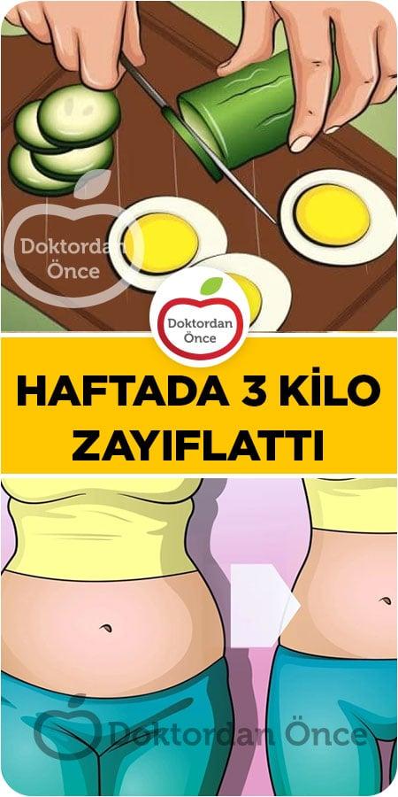 Salatalık Yumurta Diyeti