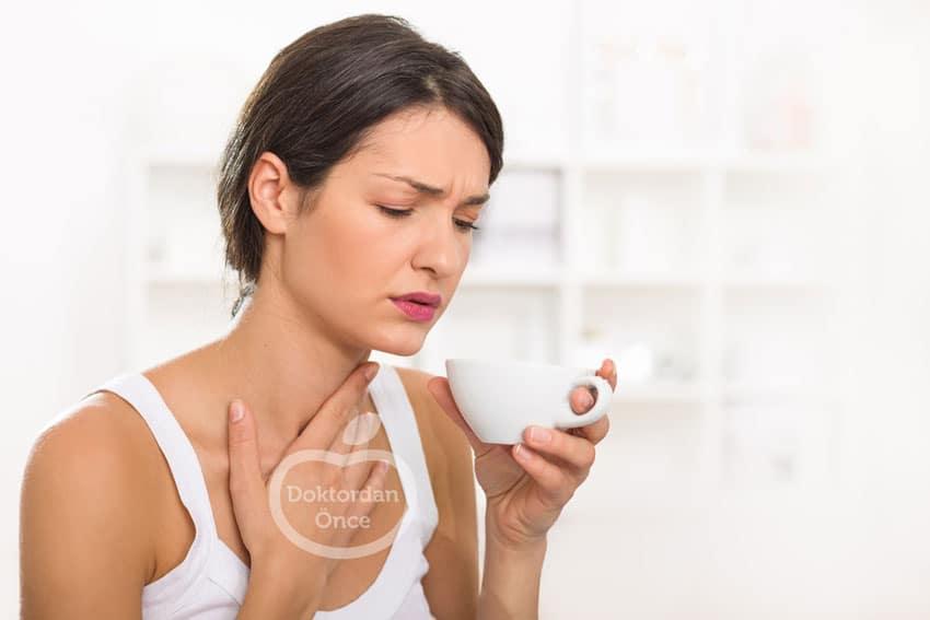 Boğaz ağrısını azaltan çay tarifi