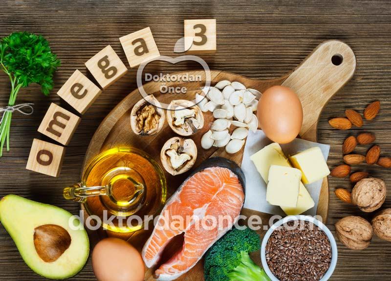 Omega 3 İçeren Besinler